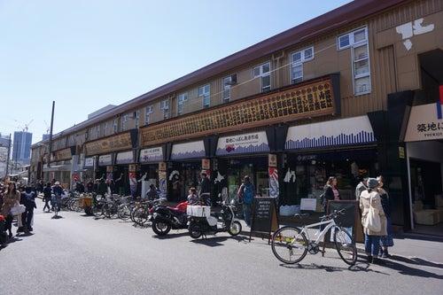 Backstreet shops of Tsukiji
