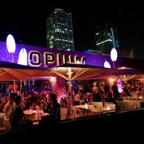 Барселона ночной клуб opium mar