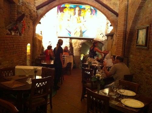 Antica osteria da divo ristorante siena italia guide turistica tripwolf - Ristorante da divo siena ...
