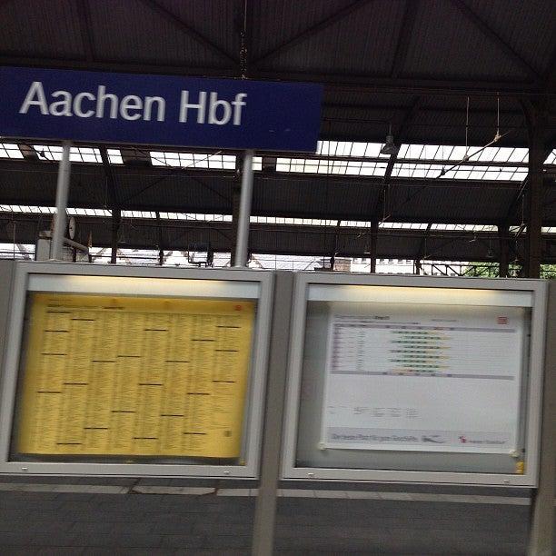 Gare d'Aachen Hbf