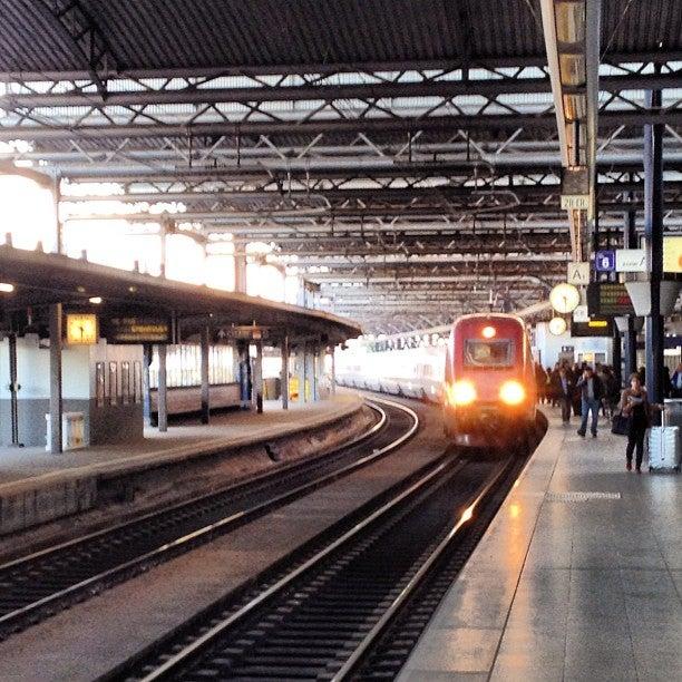 Station van Bruxelles-Midi
