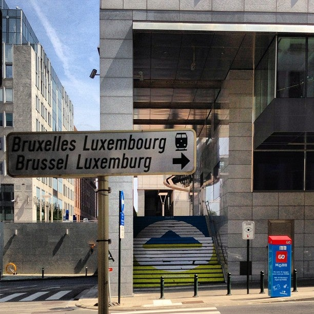Station van Bruxelles-Luxembourg