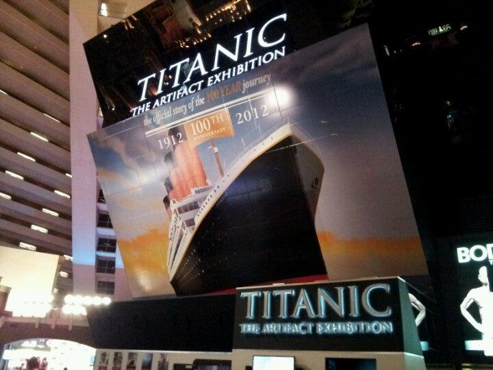 Titanic: The Artifact Exhibition @ Luxor