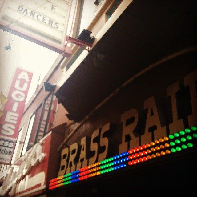 Photo of Brass Rail