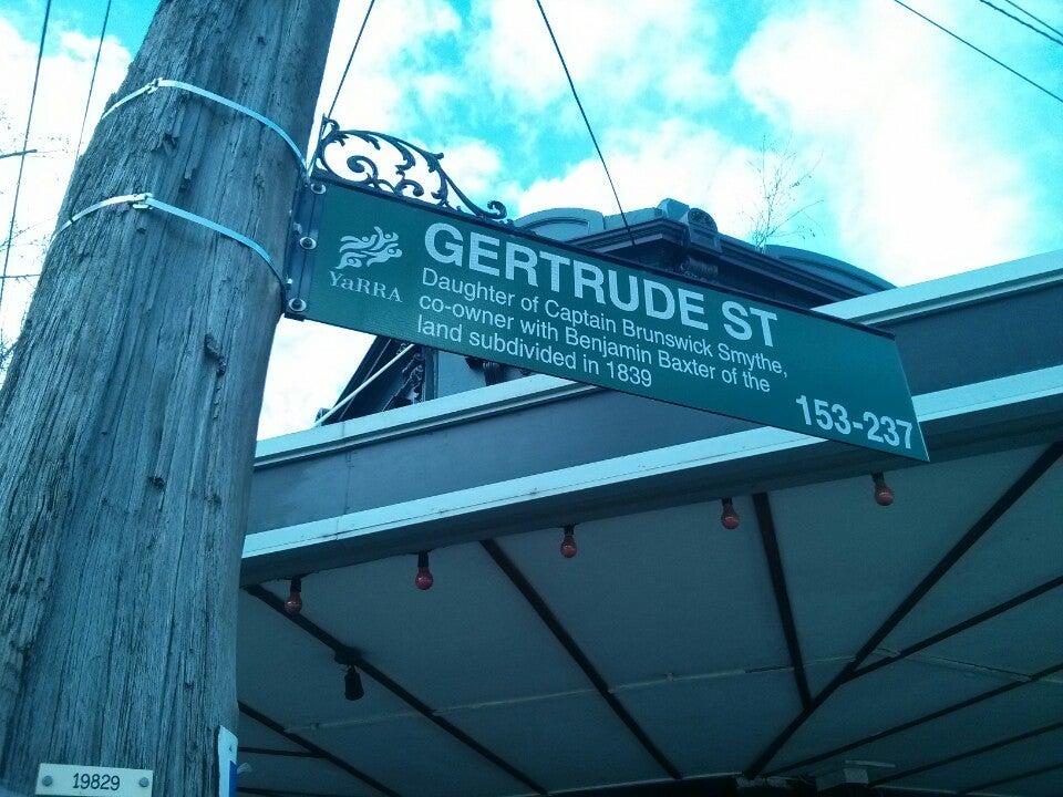 Gertrude Street, Fitzroy