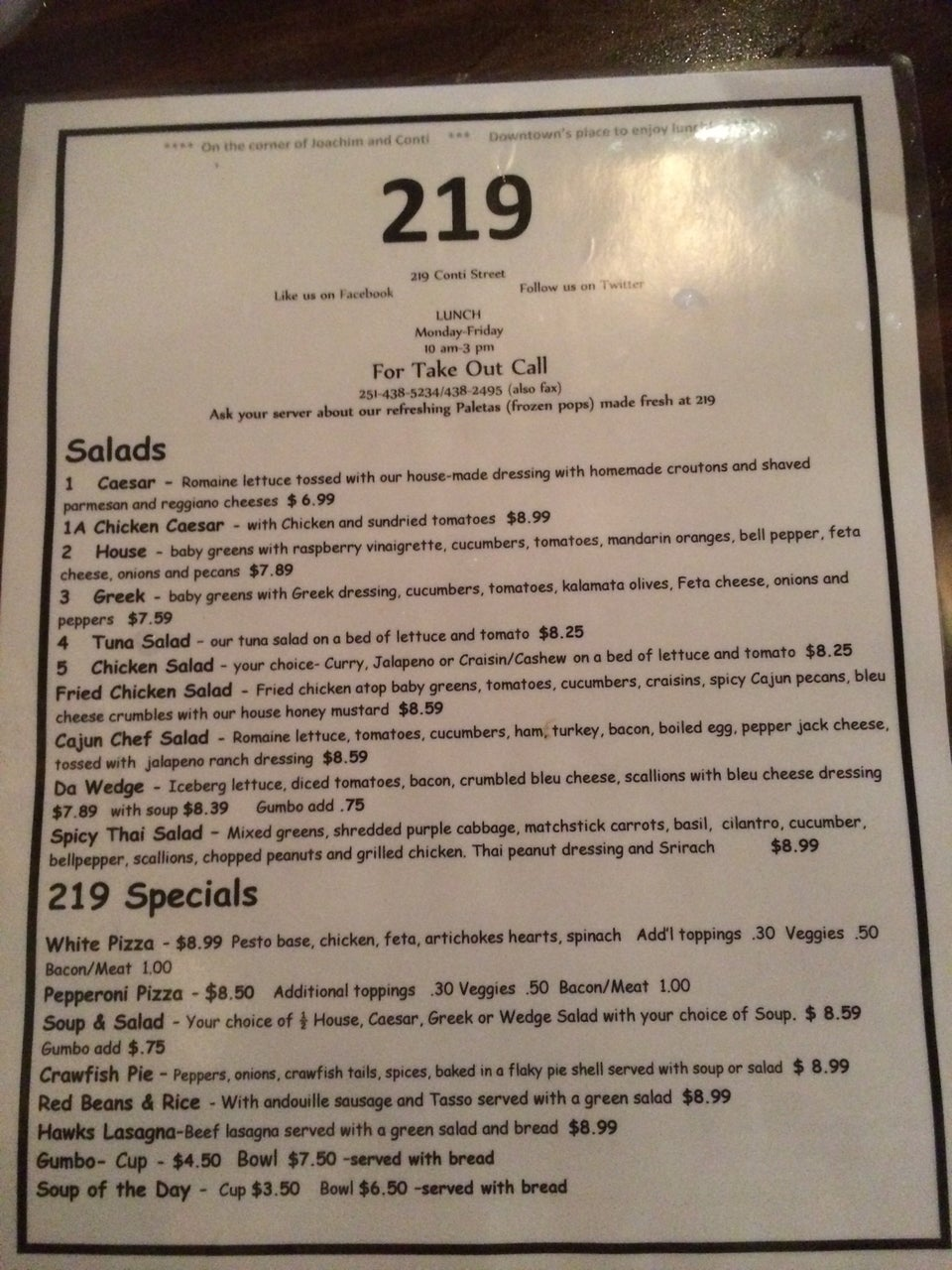 Photo of 219 Cafe