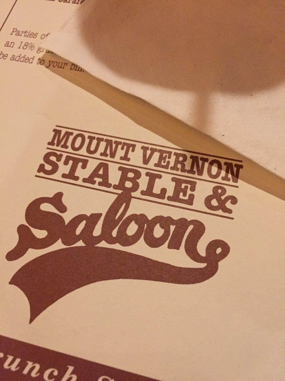 Photo of Mount Vernon Stable & Saloon