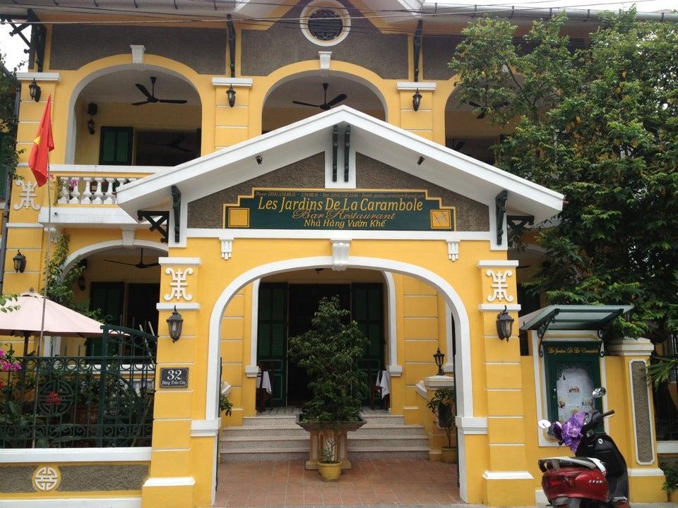 Les jardins de la carambole in nha trang restaurant in nha trang vietnam justgola - Les jardins de la carambole ...