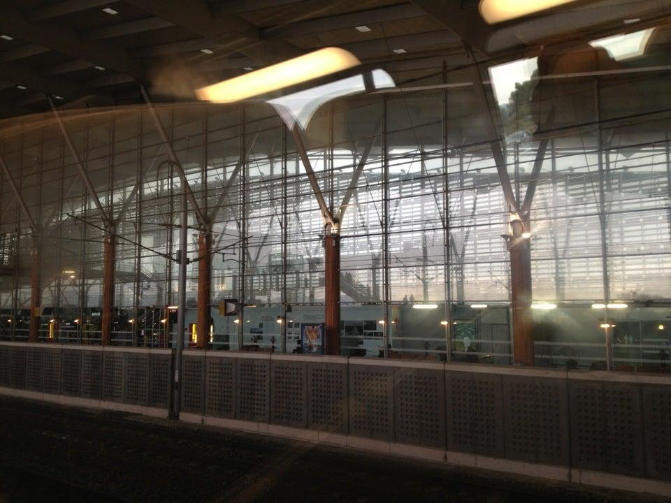 Station van Aix en Provence TGV