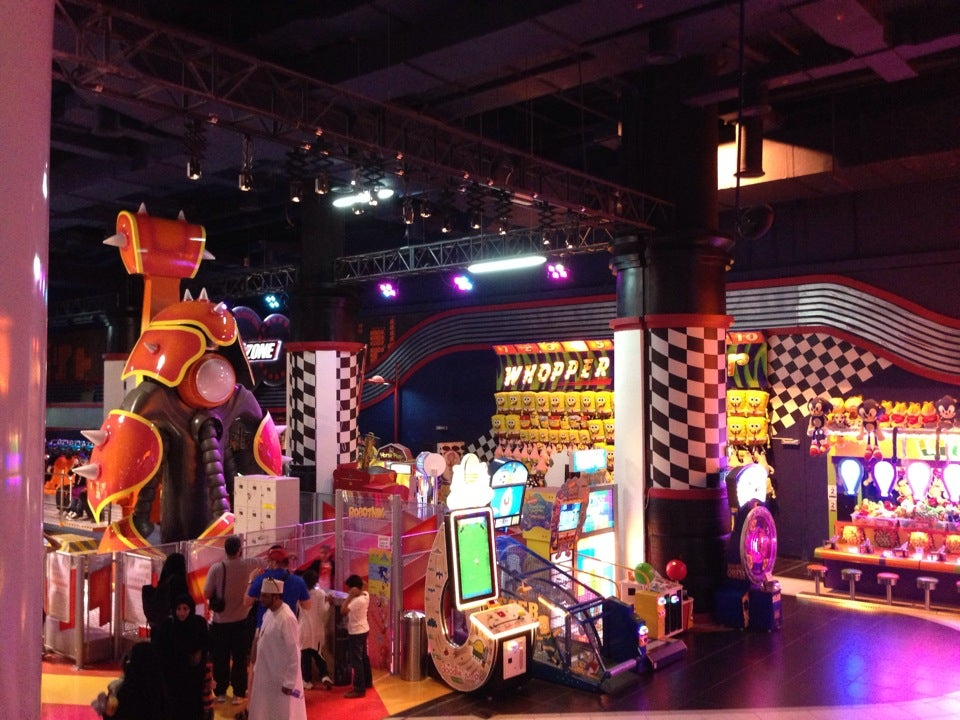 Sega Republic, Dubai Mall
