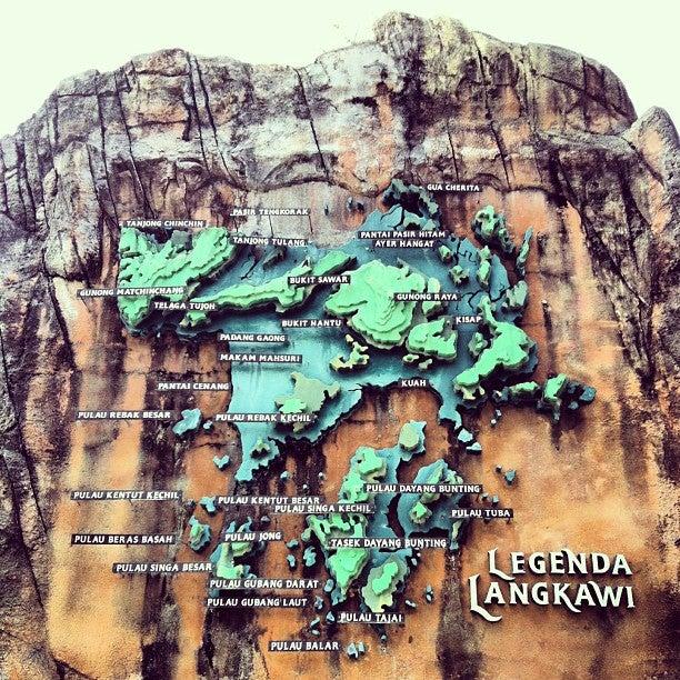 Lagenda Langkawi Dalam Taman