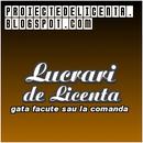 Lucrari de Licenta