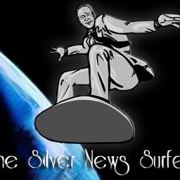 Silver News Surfer