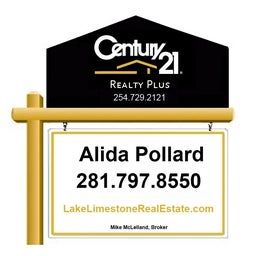 Lake Limestone Real Estate, Alida Pollard, Realtor, Century 21 Realty Plus